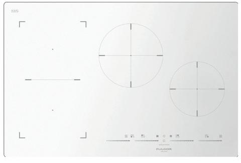 Индукционная варочная панель Fulgor-Milano FSH 804 ID TS WH