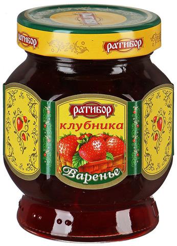 """Варенье """"Ратибор"""" клубничное 400 г"""
