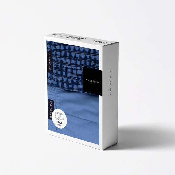 Трусы мужские шорты 2MH-058 микс (2шт.)