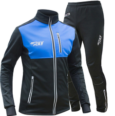 Утеплённый лыжный костюм Ray Favorit Race Ws Blue-Black мужской