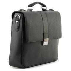 м91397 Fiato  кожа черный  (портфель мужской)