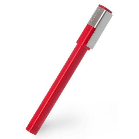 Роллер Moleskine CLASSIC PLUS (EW61RF907) 0.7мм прямоугол. красный черные чернила блистер