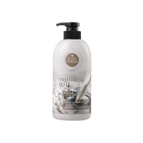 Лосьон для тела с молочными протеинами и ванилью Welcos Body Phren Body Lotion Vanilla Milk