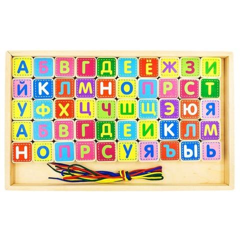 Шнуровка Alatoys Шнуровка Азбука КША5011