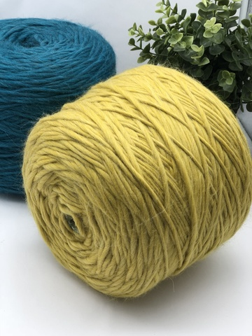 Бэйби альпака (100%) FIOCCO Cariaggi Exclusive yarns collection горчичный