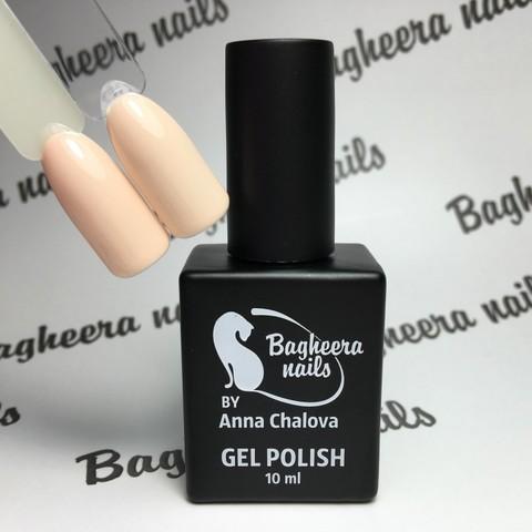Bagheera Nails BN-29 светлый песочно-бежевый оттенок 10 мл