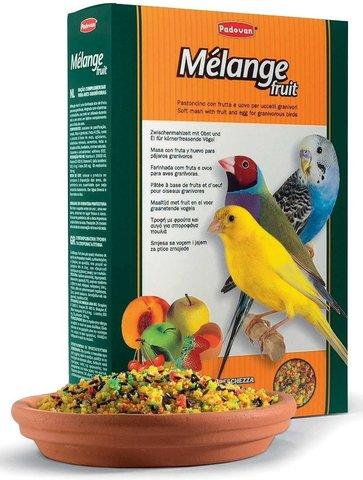 Padovan Melange fruit корм лакомый нежный фруктово-яичный для декоративных и экзот. птиц 300г