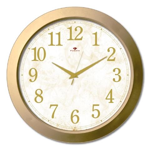 3960-106 (10) Часы настенные круг d=38,5см, корпус золотой
