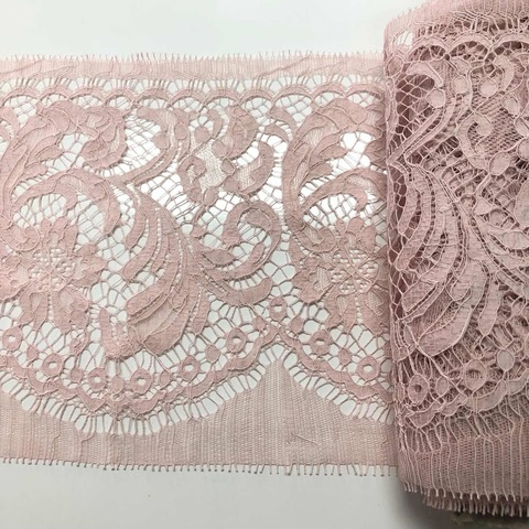 Кружево Шантильи cotton Rose