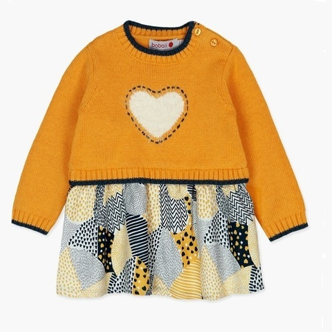 Платье Boboli детское Пушистое сердце
