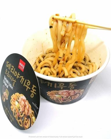 Удон с соусом терияки Teriyaki udong, Корея, 219 гр.