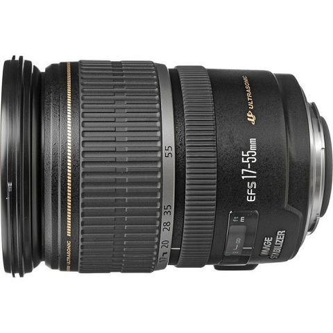 Объектив Canon EF-S 17-55mm f/2.8 IS USM Black для Canon