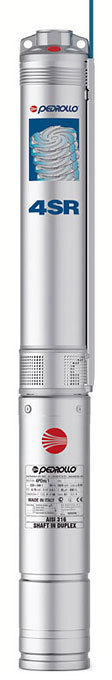Насос для скважины PEDROLLO 4SR 10/8 PD, 43м, 250л/мин