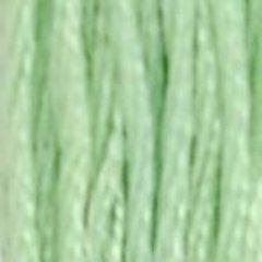 Нитки  мулине DMC хлопок  Мятный светлый 13