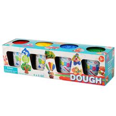 Playgo Набор пластилина (4 цвета) (Play 8604)