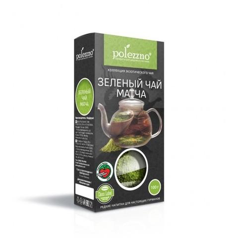 Чай зеленый порошковый Матча (Маття) японский Polezzno, 50г