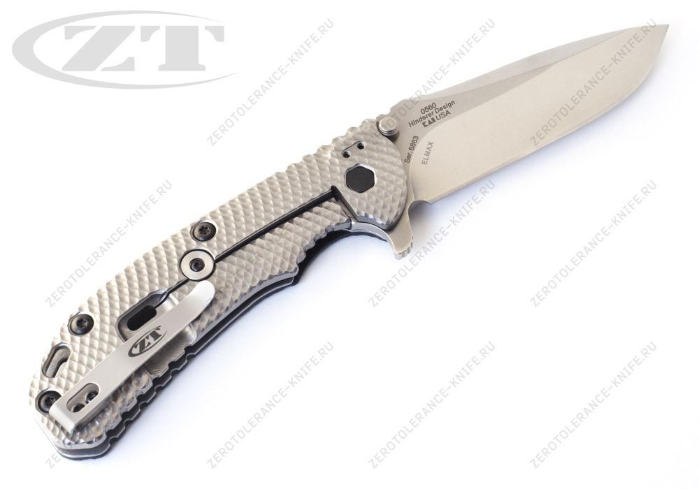 Нож Zero Tolerance 0560 GEN2 Hinderer - фотография
