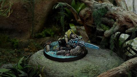 Shasvastii Light Support Unit Haiduk (Sniper)