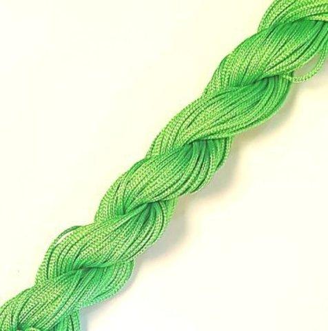 Шнур для плетения (нейлон) 1.0 мм светло-зеленый