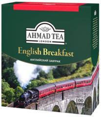 Чай черный «Ahmad» английский завтрак в конвертах из фольги 100х2г