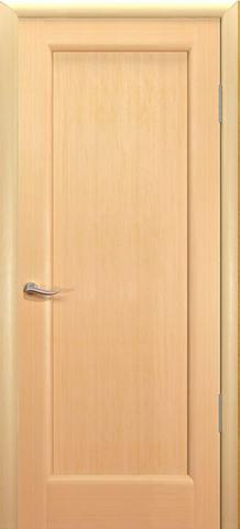 Дверь Новая волна Р  (беленый дуб, глухая шпонированная), фабрика Океан