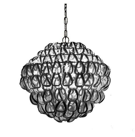 Подвесной светильник Giogali SP 80 by Vistosi (черный)
