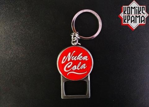 брелок открывашка Fallout Nuca Cola