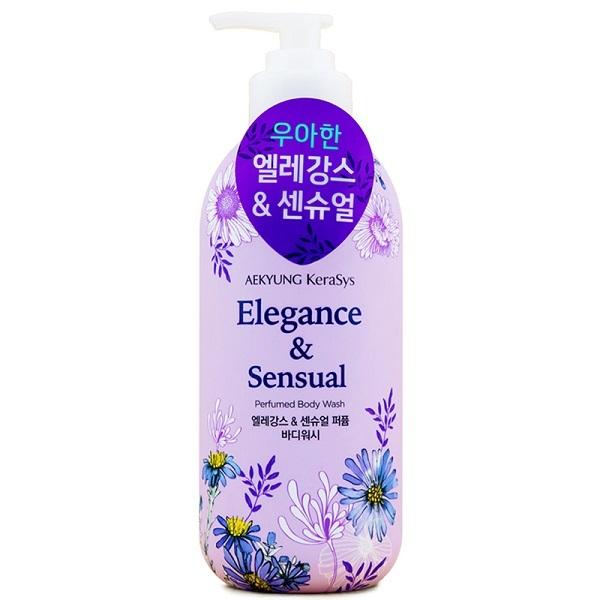 Гель для душа Элеганс KeraSys Elegance & Sensual Perfumed Body Wash 500г