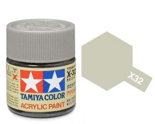 Tamiya Акрил X-32 Краска Tamiya, Серебряный Титан (Titanium Silver), акрил 10мл import_files_b9_b9307ef15a8411e4bc9550465d8a474f_e3fbec2d5b5511e4b26b002643f9dbb0.jpg