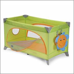 Детский манеж-кровать Chicco Spring Cot Green