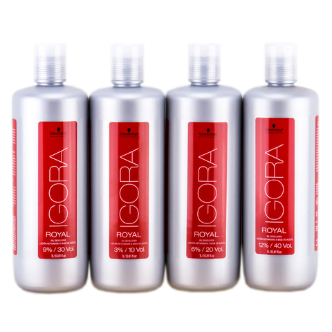 Лосьон-окислитель на масляной основе 6% Igora Royal Oil Developer Schwarzkopf  1000 мл
