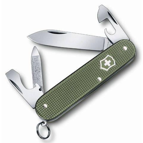Нож перочинный Victorinox Alox Cadet (0.2601.L17) 84мм 9функций оливковый
