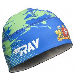 Лыжная шапка Ray Race свердловская область принт