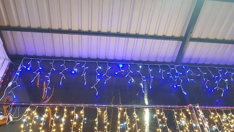 Бахрома светодиодая уличная 3*0,6м 100LED синий