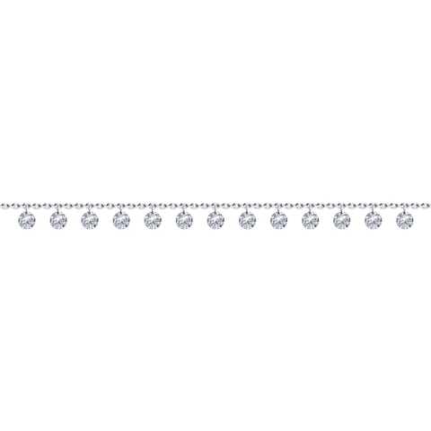 94050623-Браслет из серебра с подвесками