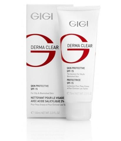 Gigi Dream Clear Cream Protective SPF-15, Увлажняющий крем SPF 15, 75 мл.