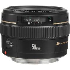Объектив Canon EF 50mm f/1.4 USM Black для Canon