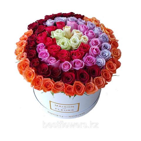 Коробка Maison Des Fleurs Микс