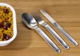 Набор столовых приборов в чехле Cutlery для ланч боксов, нержавеющая сталь Black+Blum BAM-SSC001 | Купить в Москве, СПб и с доставкой по всей России | Интернет магазин www.Kitchen-Devices.ru