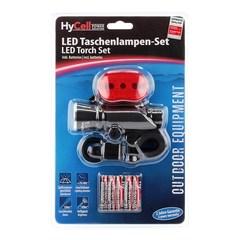 Велофара HyCell LED + Стоп-сигнал