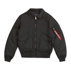 Куртка Alpha Industries CWU 45/P Slim Fit Black (Черная)