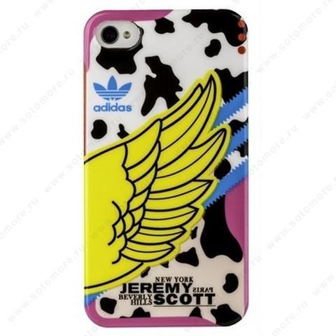 Накладка JEREMY SCOTT adidas для iPhone 4s/ 4 вид 5