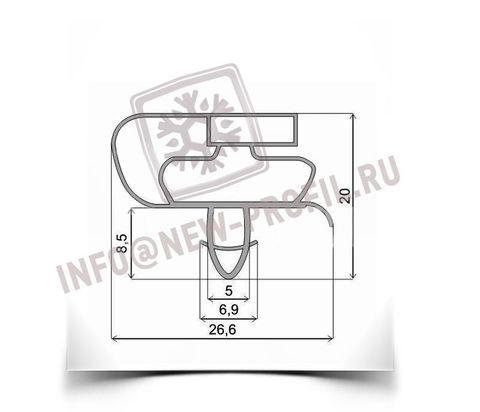 Уплотнитель для холодильника-морозильника типа II ХМ-4521-100-N мк 720*660 мм (021)