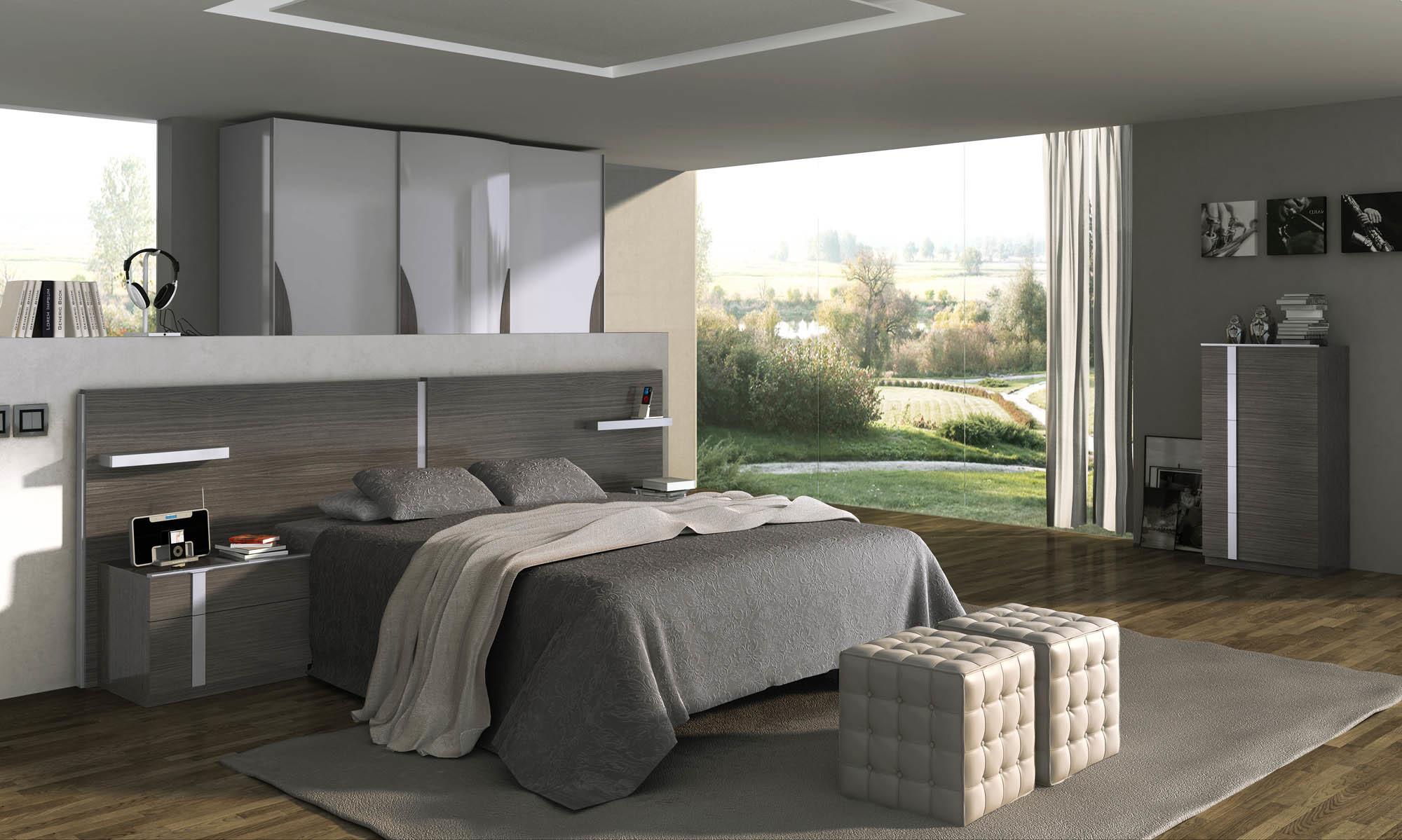 Кровать Fenicia Mobiliario 502 ALGINET Ceniza