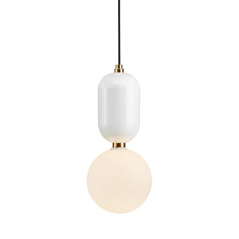 Подвесной светильник Aballs  by Parachilna (белый, D30)
