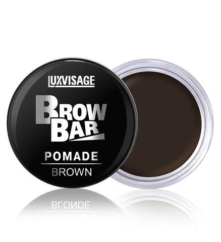 LuxVisage Brow Bar Стойкая матовая помада для бровей тон 3 Brown 6г