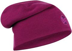 Теплая шерстяная шапка Buff Hat Wool Heavyweight Solid Raspberry