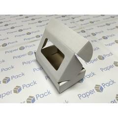 Коробка 11.5х7х3.2 см, гофрокартон, c окошком - 25 шт(упак)