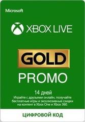 Xbox Store Россия: Подписка Promo Золотой статус Xbox Live (абонемент на 14 дней, цифровая версия)