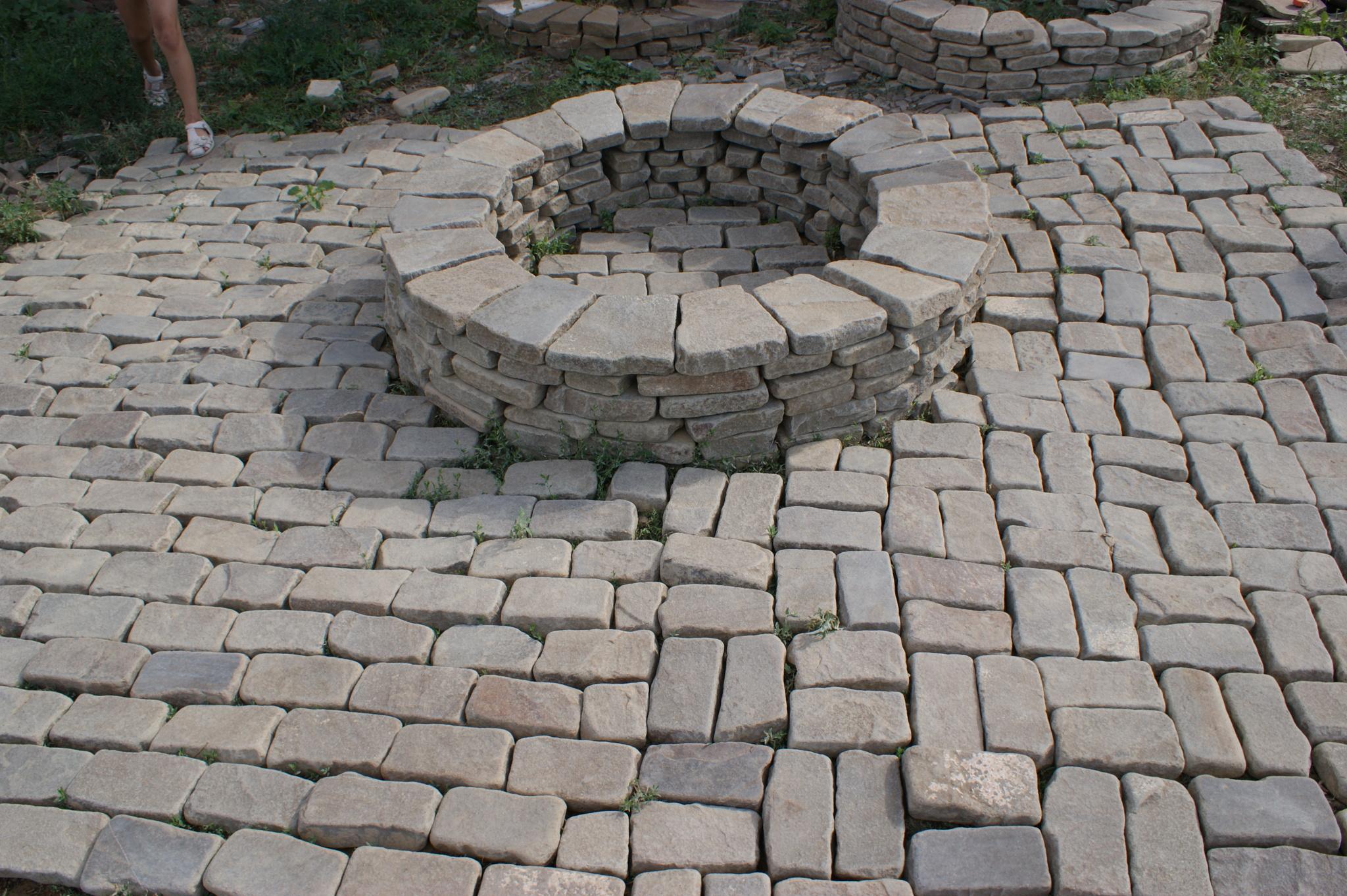 кострище из камня
